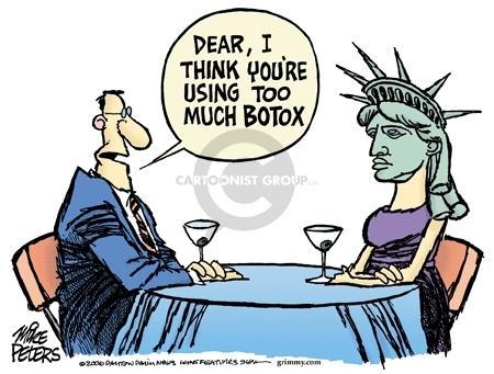 Cartoonist Mike Peters  Mike Peters' Editorial Cartoons 2006-10-21 eye