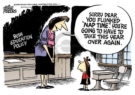 Cartoonist Mike Peters  Mike Peters' Editorial Cartoons 2006-10-22 skill