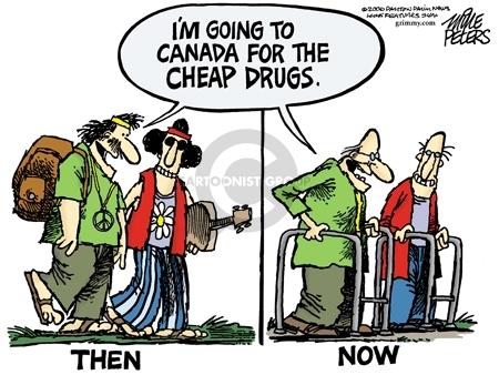 Mike Peters  Mike Peters' Editorial Cartoons 2006-10-27 hippie
