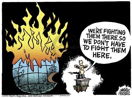 Cartoonist Mike Peters  Mike Peters' Editorial Cartoons 2006-11-02 globe