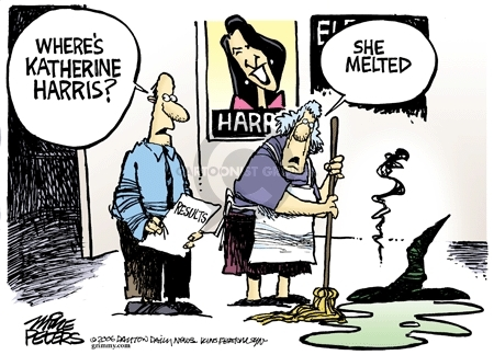 Cartoonist Mike Peters  Mike Peters' Editorial Cartoons 2006-11-08 2000 election