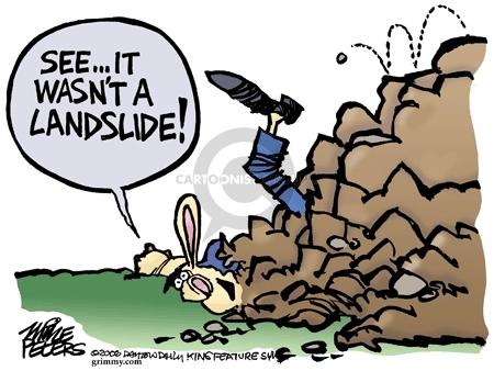 Cartoonist Mike Peters  Mike Peters' Editorial Cartoons 2006-11-11 wasn't
