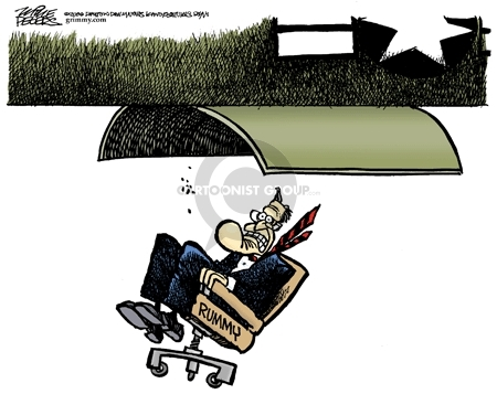 Cartoonist Mike Peters  Mike Peters' Editorial Cartoons 2006-11-12 retirement