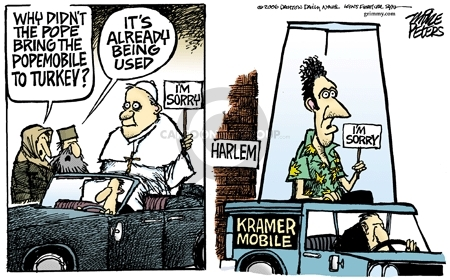 Mike Peters  Mike Peters' Editorial Cartoons 2006-12-01 racism