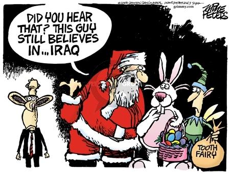 Cartoonist Mike Peters  Mike Peters' Editorial Cartoons 2006-12-02 denial