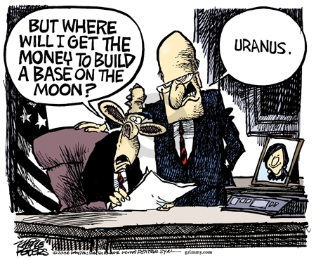 Cartoonist Mike Peters  Mike Peters' Editorial Cartoons 2006-12-10 fund