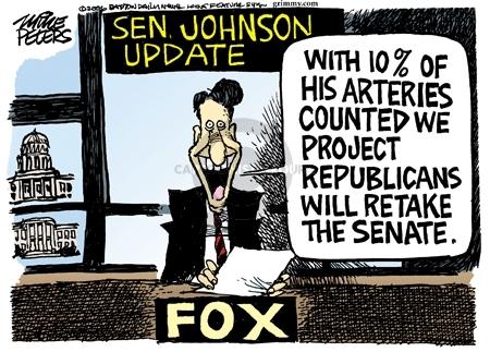 Mike Peters  Mike Peters' Editorial Cartoons 2006-12-17 Ron Johnson