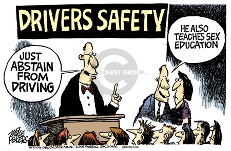 Mike Peters  Mike Peters' Editorial Cartoons 2007-01-01 vehicle safety