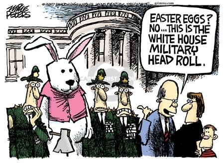 Cartoonist Mike Peters  Mike Peters' Editorial Cartoons 2007-01-07 head