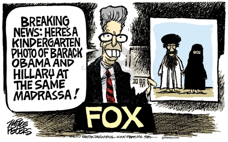 Cartoonist Mike Peters  Mike Peters' Editorial Cartoons 2007-01-27 photo