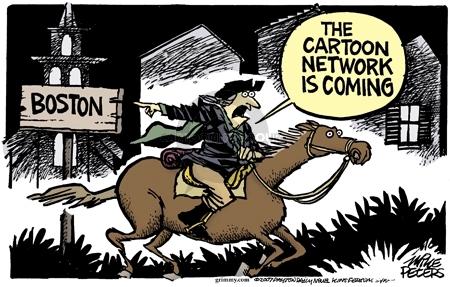 Cartoonist Mike Peters  Mike Peters' Editorial Cartoons 2007-02-04 Boston