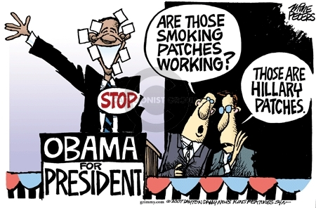 Cartoonist Mike Peters  Mike Peters' Editorial Cartoons 2007-02-09 cigarette