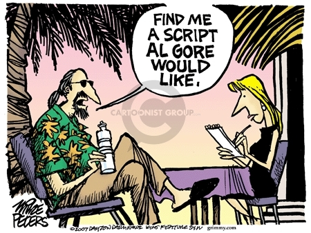 Cartoonist Mike Peters  Mike Peters' Editorial Cartoons 2007-03-01 Hollywood
