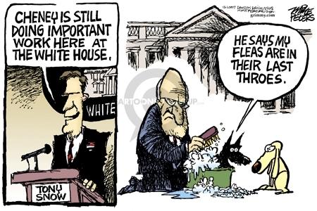 Mike Peters  Mike Peters' Editorial Cartoons 2007-03-12 integrity