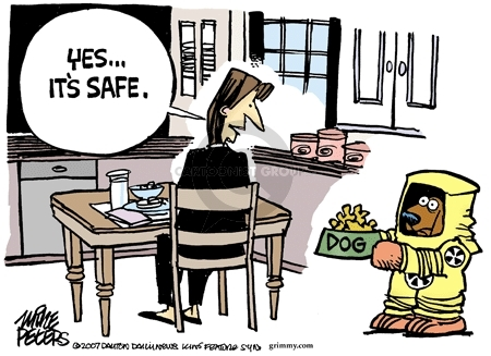 Mike Peters  Mike Peters' Editorial Cartoons 2007-04-01 safety