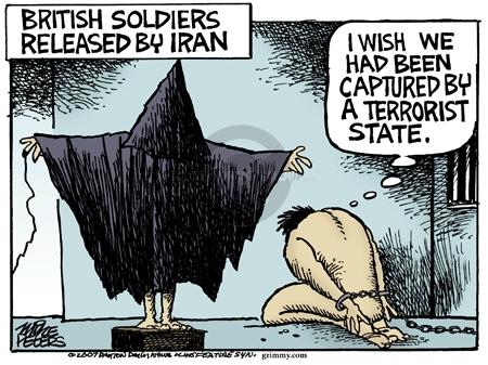 Cartoonist Mike Peters  Mike Peters' Editorial Cartoons 2007-04-06 terrorist