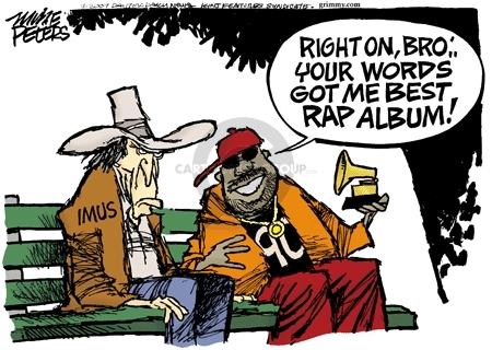 Mike Peters  Mike Peters' Editorial Cartoons 2007-04-12 racism