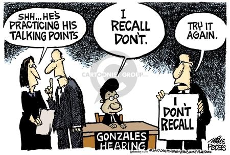 Mike Peters  Mike Peters' Editorial Cartoons 2007-04-13 recall