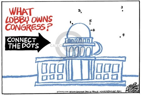 Cartoonist Mike Peters  Mike Peters' Editorial Cartoons 2007-04-20 gun rights