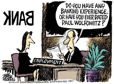 Cartoonist Mike Peters  Mike Peters' Editorial Cartoons 2007-05-17 experience