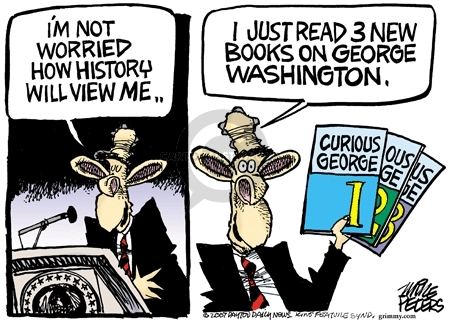 Mike Peters  Mike Peters' Editorial Cartoons 2007-05-18 George Washington