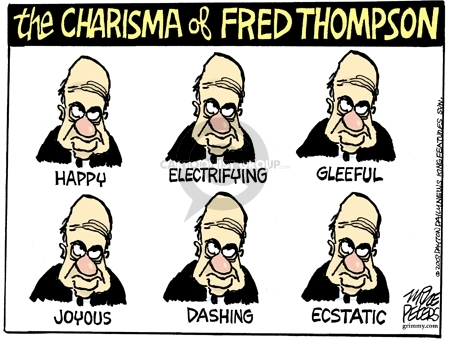 Cartoonist Mike Peters  Mike Peters' Editorial Cartoons 2007-05-31 election