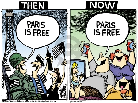 Cartoonist Mike Peters  Mike Peters' Editorial Cartoons 2007-06-27 France
