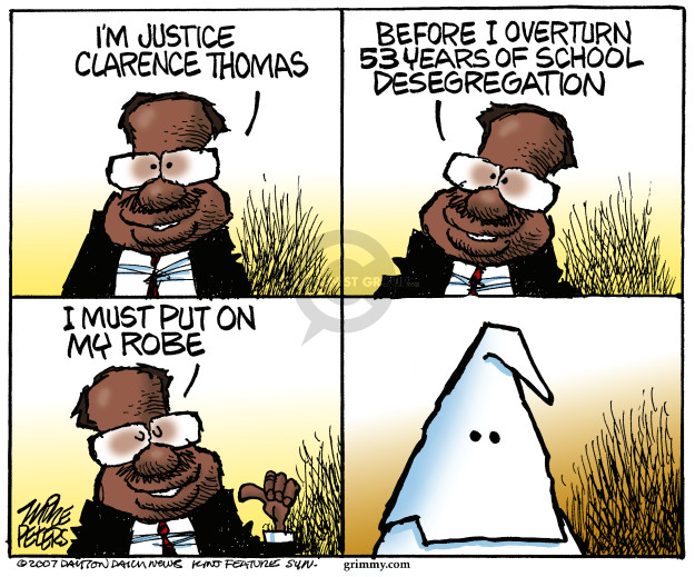 Mike Peters  Mike Peters' Editorial Cartoons 2007-06-29 Supreme Court