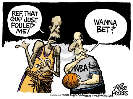 Mike Peters  Mike Peters' Editorial Cartoons 2007-07-24 NBA
