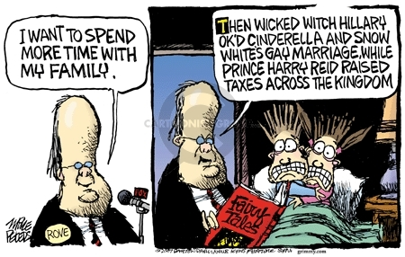 Cartoonist Mike Peters  Mike Peters' Editorial Cartoons 2007-08-14 retirement