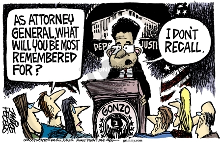 Mike Peters  Mike Peters' Editorial Cartoons 2007-08-27 recall