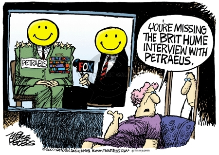 Mike Peters  Mike Peters' Editorial Cartoons 2007-09-11 television news