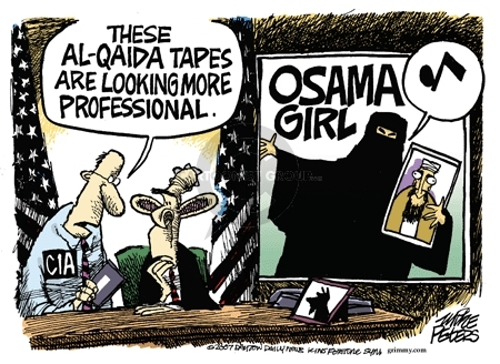 Cartoonist Mike Peters  Mike Peters' Editorial Cartoons 2007-09-21 CIA