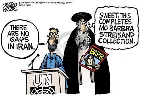 Mike Peters  Mike Peters' Editorial Cartoons 2007-09-26 Iran