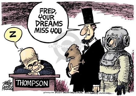 Z.  Thompson.  Fred, your dreams miss you.