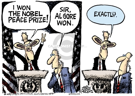 Cartoonist Mike Peters  Mike Peters' Editorial Cartoons 2007-10-12 2000 election