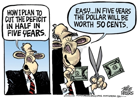 Mike Peters  Mike Peters' Editorial Cartoons 2007-10-16 currency
