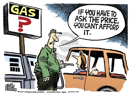 Mike Peters  Mike Peters' Editorial Cartoons 2007-10-18 gas price