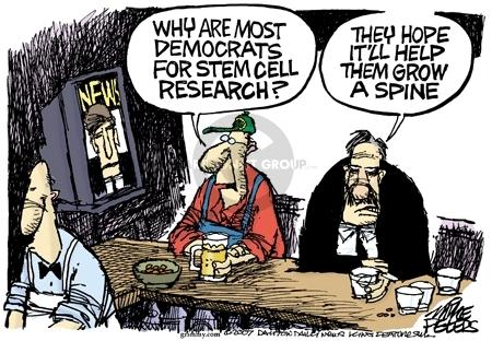 Cartoonist Mike Peters  Mike Peters' Editorial Cartoons 2007-11-06 democratic