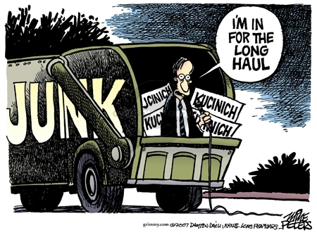 Cartoonist Mike Peters  Mike Peters' Editorial Cartoons 2007-11-13 election