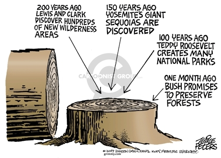 Mike Peters  Mike Peters' Editorial Cartoons 2007-11-16 environment
