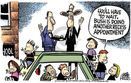 Cartoonist Mike Peters  Mike Peters' Editorial Cartoons 2007-11-22 presidential cabinet