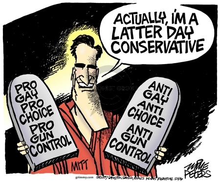 Cartoonist Mike Peters  Mike Peters' Editorial Cartoons 2007-12-07 election