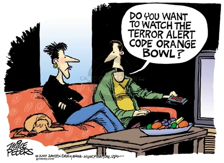 Mike Peters  Mike Peters' Editorial Cartoons 2007-12-26 college football