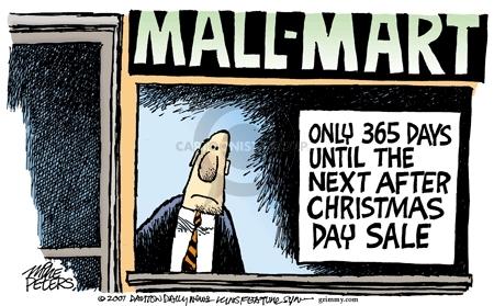 Cartoonist Mike Peters  Mike Peters' Editorial Cartoons 2007-12-28 retail