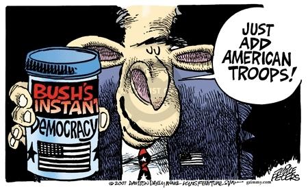Cartoonist Mike Peters  Mike Peters' Editorial Cartoons 2008-01-01 process