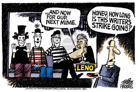Cartoonist Mike Peters  Mike Peters' Editorial Cartoons 2008-01-02 labor
