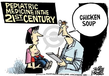 Cartoonist Mike Peters  Mike Peters' Editorial Cartoons 2008-01-17 care