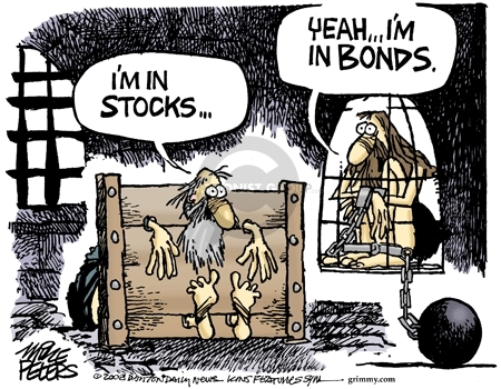 Cartoonist Mike Peters  Mike Peters' Editorial Cartoons 2008-01-23 financial