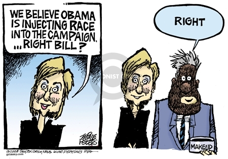 Mike Peters  Mike Peters' Editorial Cartoons 2008-01-25 campaign